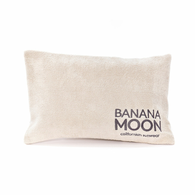 Coussin de plage blanc sable Phil Pillowan