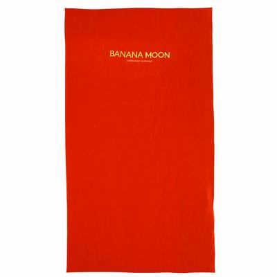 Serviette de plage Rouge corail Plain Towely