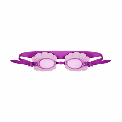 Lunettes de piscine shell pour enfants lilas