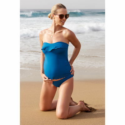 Maillot de bain Tankini Bleu denim Bloom