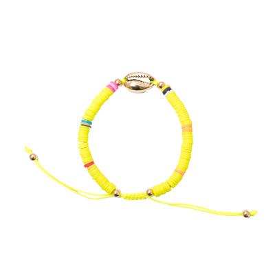 Bracelet maasaï jaune