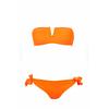 maillot-tendance-pas-cher-bandeau-décolté-orange-d229a