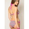 maillot-de-bain-push-up-ethnique-rose-l6126-dos