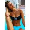 maillot de bain bijou bleu victoria secret pas cher