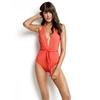 maillot-de-bain-1-piece-décolté-orange-seafolly-10659