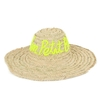 beau-chapeau-de-plage-paille-jaune-monpetitbikini