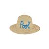 beau-chapeau-de-plage-motif-manuscrit-bleu-pool-monpetitbikini