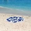 Serviette-de-plage-ronde-Palmeraie-bleu-les-antillaises-2017-monpetitbkini