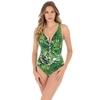 Maillot-une-pièce-amincissant-imprimé-tropical-vert-Charmer-6511469-GRN