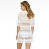 Robe-de-plage-blanche-en-dentelle-Monochrome-piqué-dos-370-9416-034