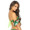 Maillot-bandeau-épaules-dénudées-vert-à-fleurs-Gran-Canaria-dos-BF11520298-313