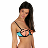 Mon-Bikini-Néoprène-bleu-néon-et-corail-monpetitbikini-MNBH-17