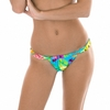 Maillot-de-bain-brésilien-coulissant-multicolore-Tropical-riodesol-TROPICAL-BLUE-TOMARA-BOTTOM