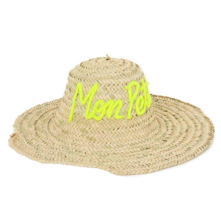 beau-chapeau-de-plage-paille-mpb-jaune
