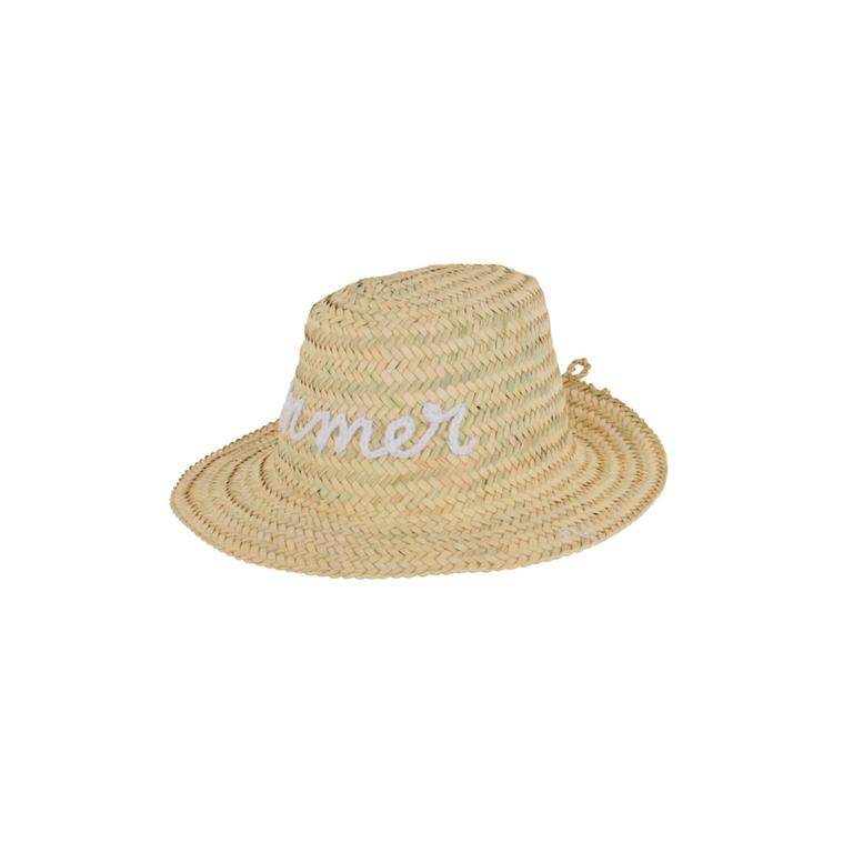 beau-chapeau-de-plage-en-paille-motif-manuscrit-summer-blanc-monpetitbikini
