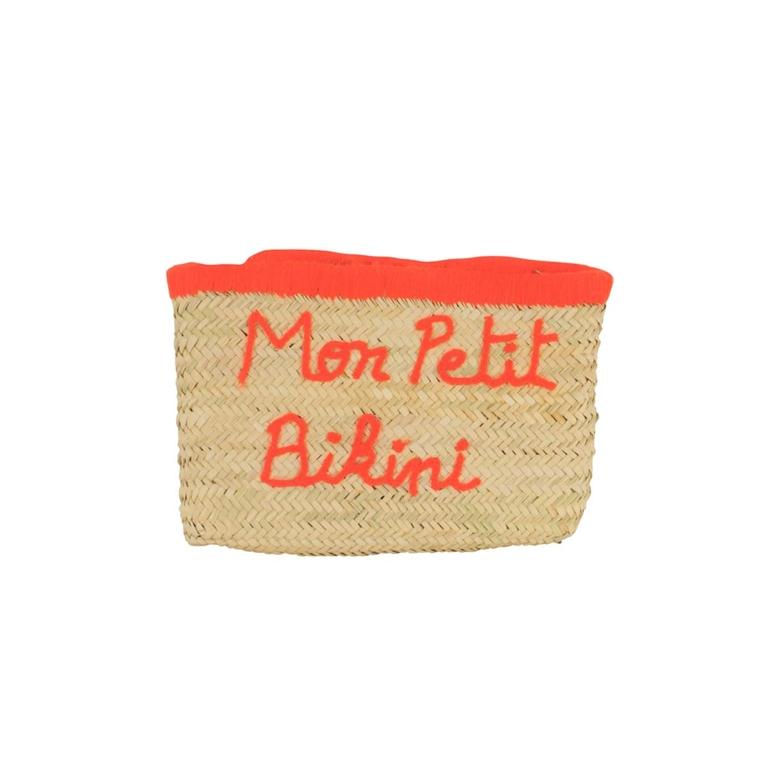 pochette-en-osier-motif-manuscrit-monpetitbikini-orange-fluo