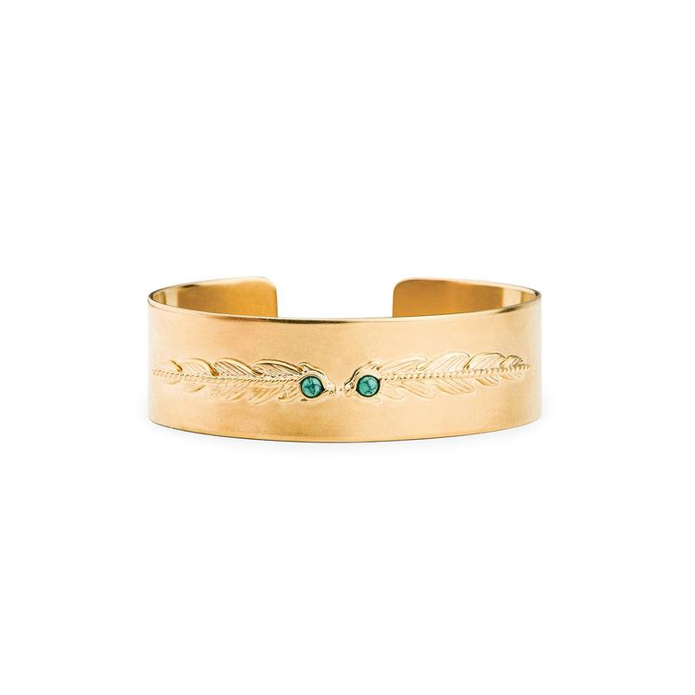 bracelet-jonc-hipanema-doré-phyllin