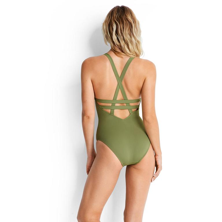 maillot-de-bain-une-pièce-vert-kaki-seafolly-active-2018_10634-058-dos