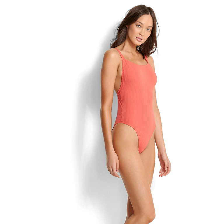 maillot-de-bain-1-pièce-rouge-corail-inka-rib-seafolly-2018_10767