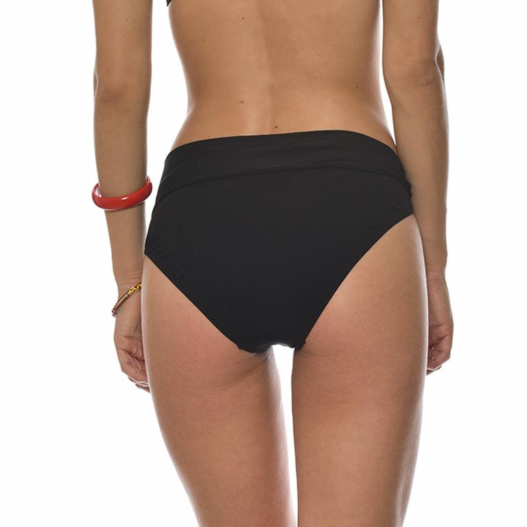 Maillot-de-bain-culotte-taille-haute-noire-Black-dos-HOPA-BLACK-LSE01