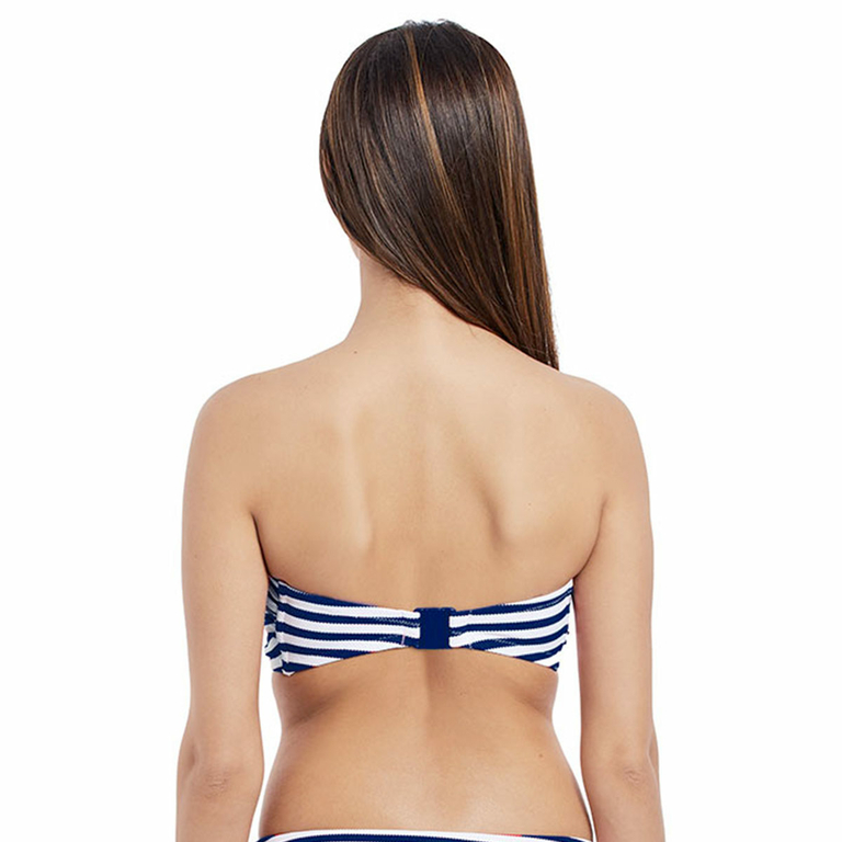 Maillot-de-bain-Bandeau-rayé-bleu-Drift-away-dos-AS4049NAY