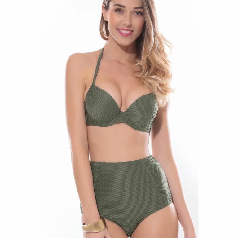 maillot-de-bain-push-up-taille-haute-vert-kaki_L8018-KAKI