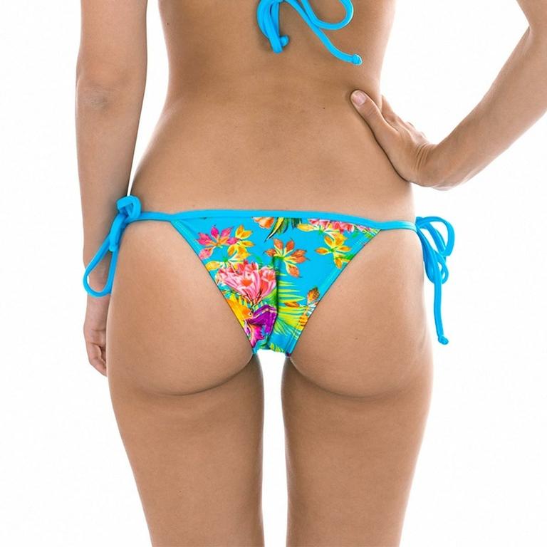 Maillot-de-bain-brésilien-triangle-multicolore-Tropical-dos-riodesol-TROPICAL-BLUE-TRIANGULO-BOTTOM