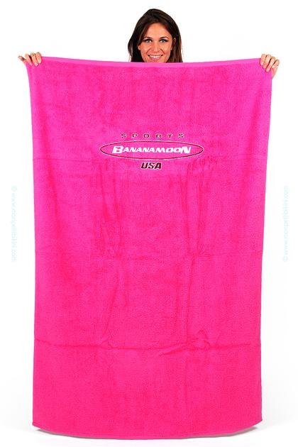 Banana Moon serviette de plage rose - Beach accessories towel