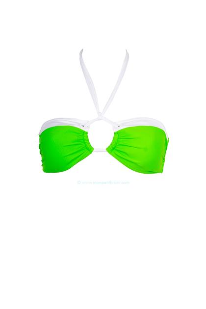 bikini-bar-maillot-de-bain-2-pieces-femme-bandeau-col-rond-attache-ficelle-cou-bicolore-vert-pomme-fluo-blanc-sand-0504153001358854877