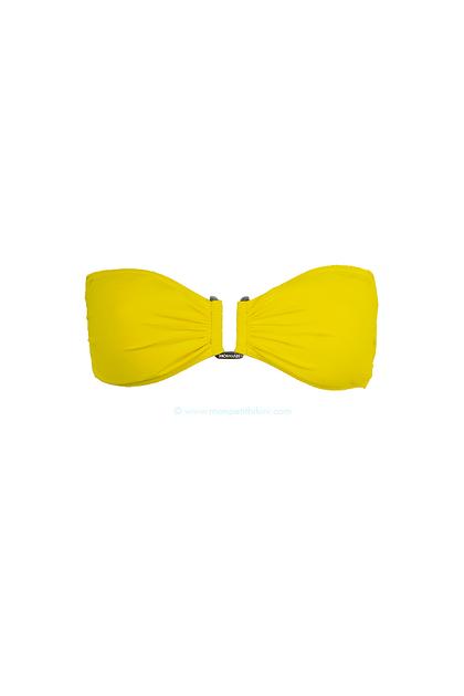 maillot de bain jaune mourtarde maillots de bain bandeau. Black Bedroom Furniture Sets. Home Design Ideas