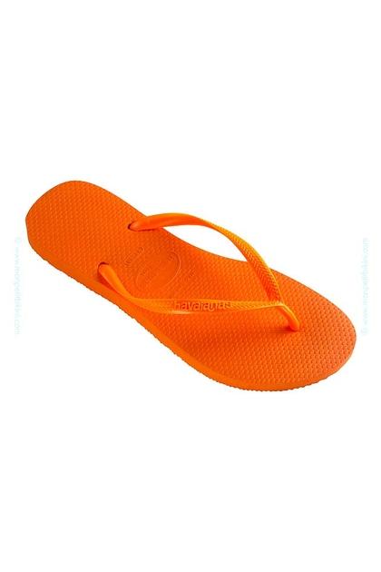 Tong Slim orange fluo - Havaianas vQg20yc