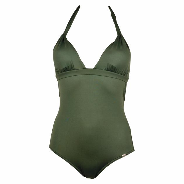maillot-de-bain-une-pièce-banana-moon-vert-kaki-swamis-klener