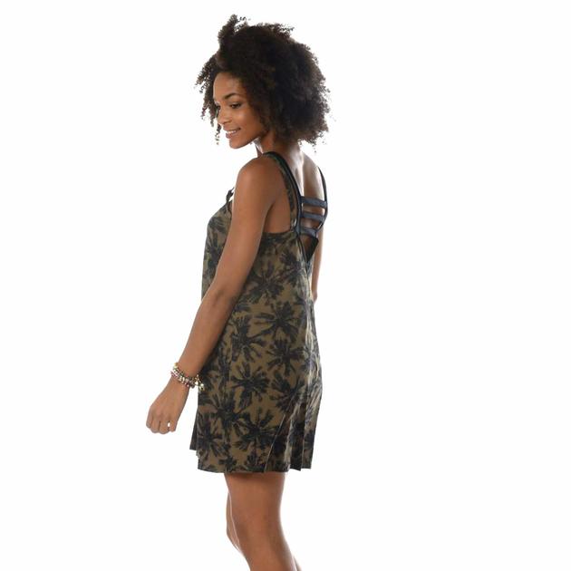 nouveau style matériau sélectionné profiter de gros rabais Robe de plage vert kaki Blackpalms