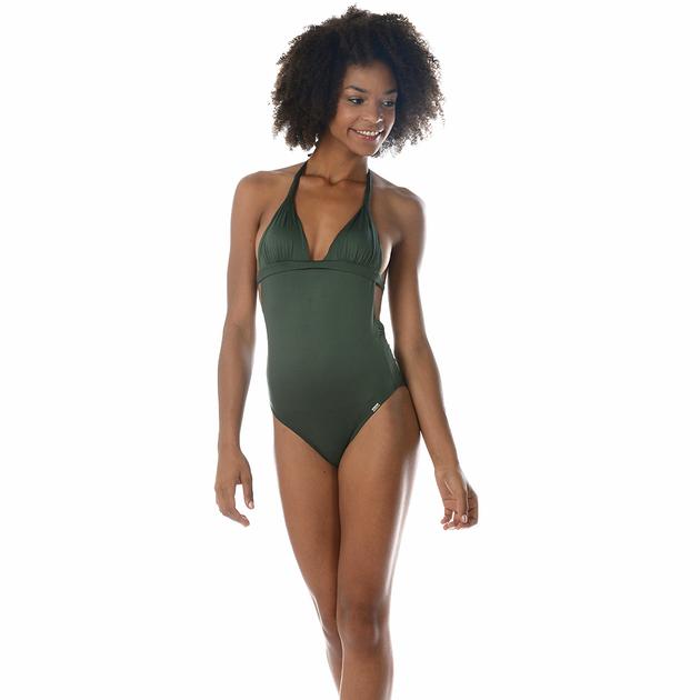 maillot-de-bain-vert-kaki-une-pièce-banana-moon-swamis-klener