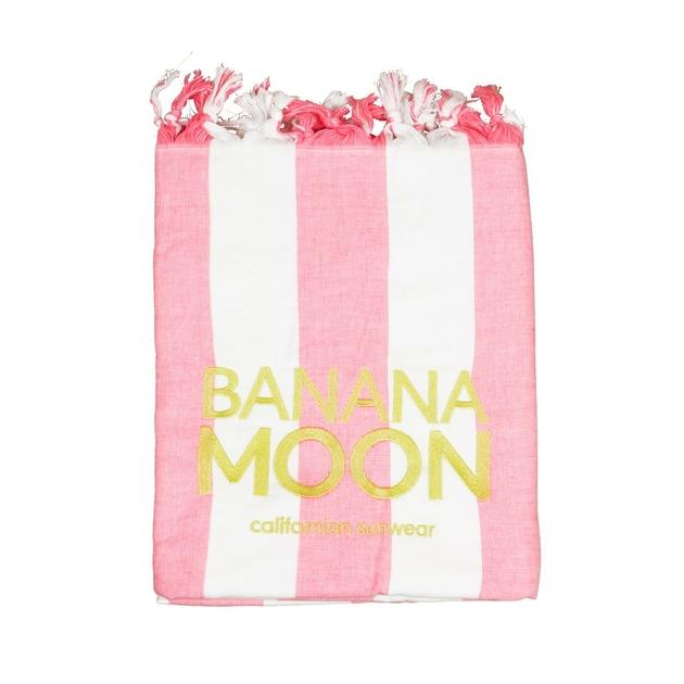 fouta-rose-et-blanche-banana-moon-aissia-marbella
