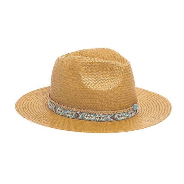 chapeau de plage dor samba accessoires femmes amenapih t. Black Bedroom Furniture Sets. Home Design Ideas