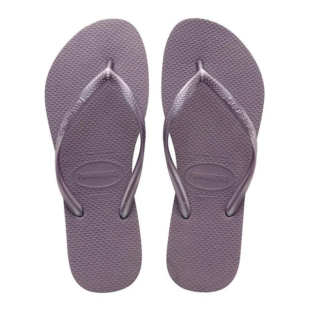 Tongs Slim gris violet taupe - accessoire de plage Havaianas tong 338cc79effcf