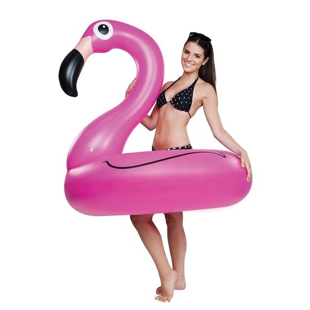 bou e g ante flamant rose gonflable bronzage piscine plage t. Black Bedroom Furniture Sets. Home Design Ideas