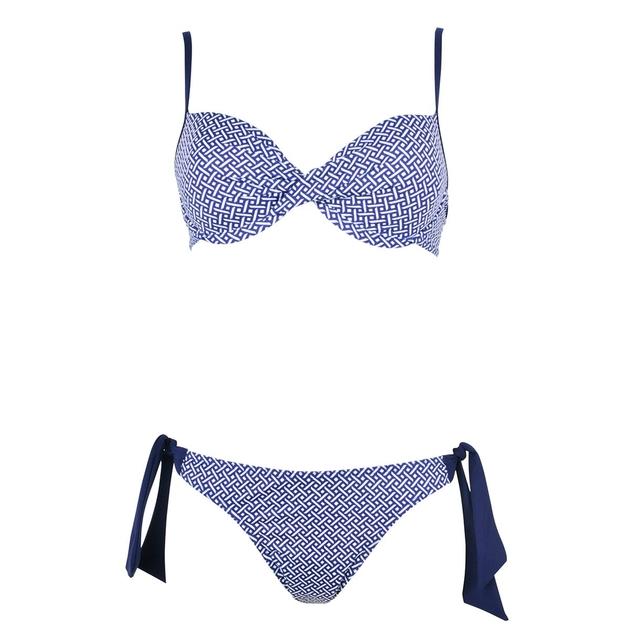 maillot-de-bain-bonnet-C-géométrique-bleu-LA2PVNELL