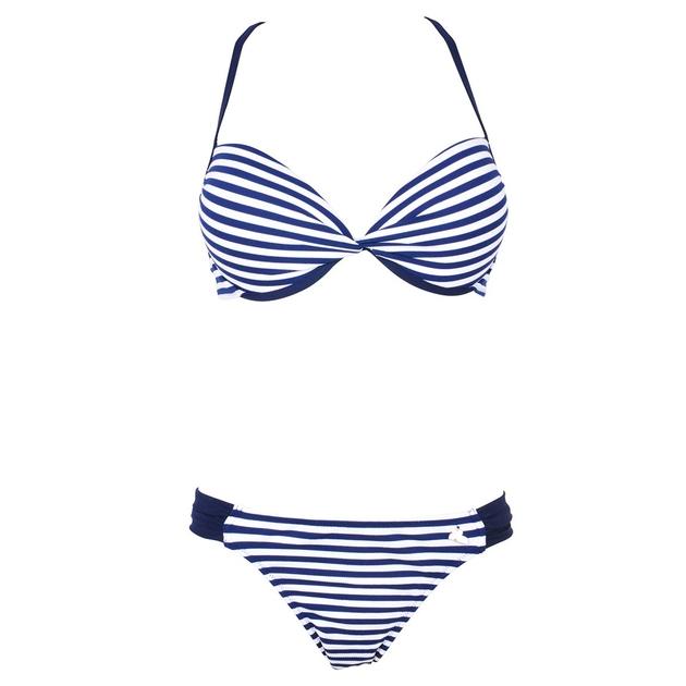 maillot 2 pi ces push up bleu bonnet b et c pong lolita angels. Black Bedroom Furniture Sets. Home Design Ideas