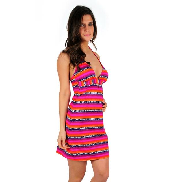 belle-robe-de-plage-rose-tendance-LARPRSUR