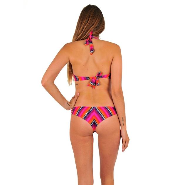maillot-de-bain-deux-pièces-tanga-sexy-rose-LA2PLDSUR-dos