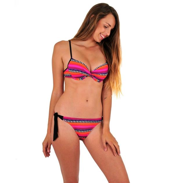 maillot-de-bain-2-pièces-rose-tendance-LA2PVNSUR