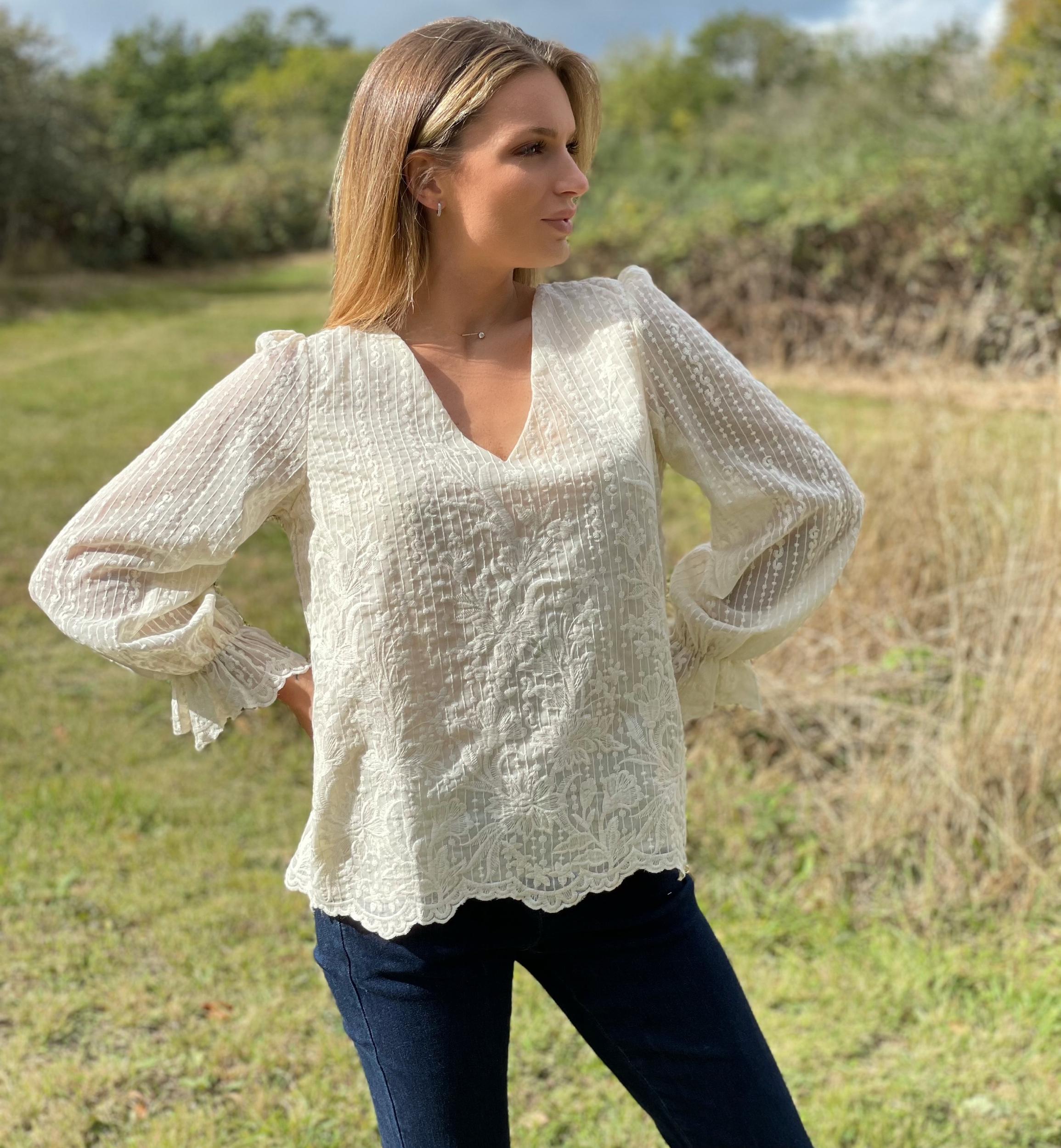 Top blouse ZINA