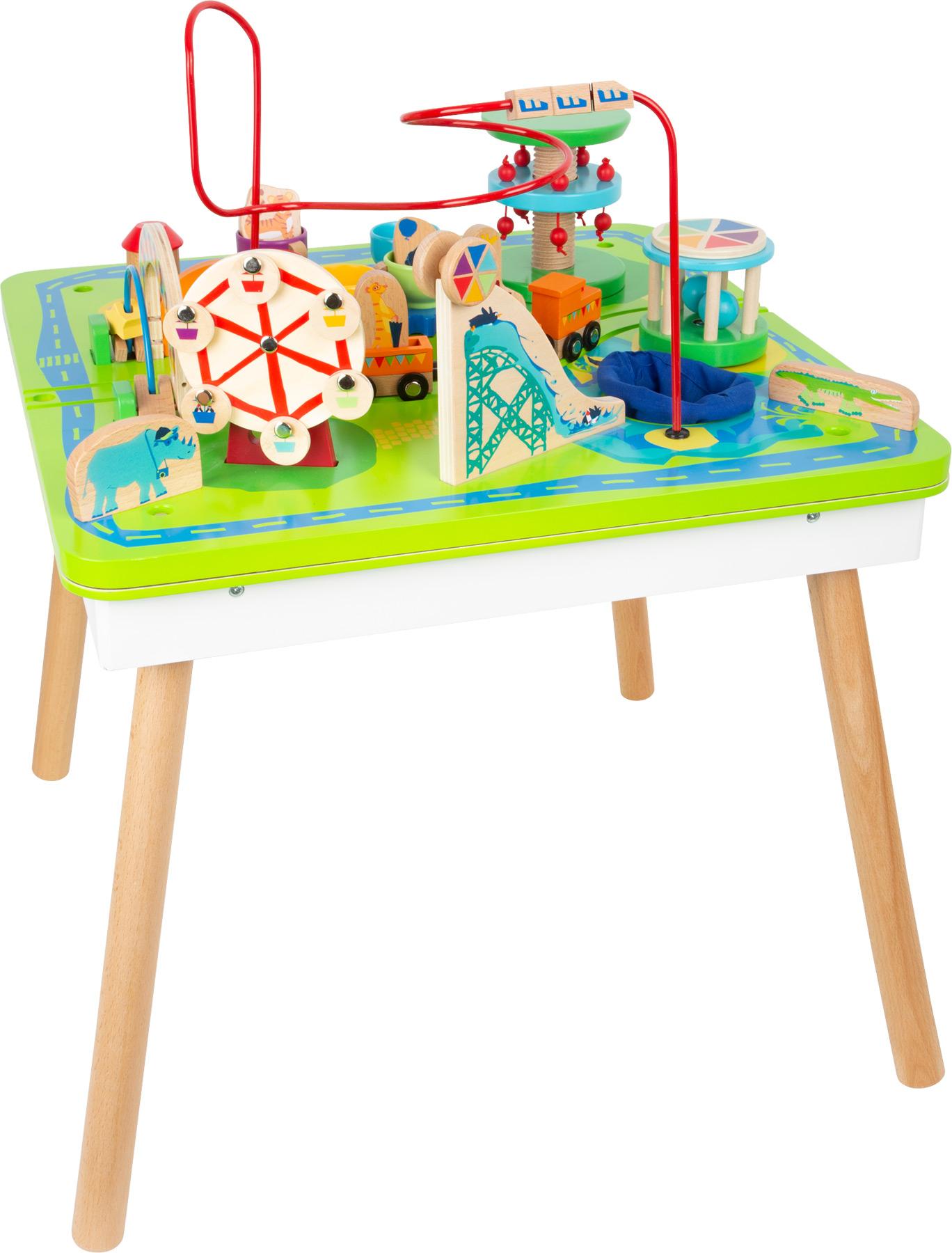 Table de jeu Parc d\'attractions 3 en 1