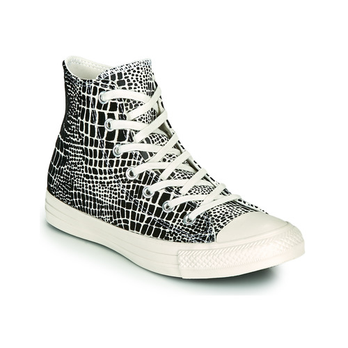 Baskets montantes Femme  CONVERSE CHUCK TAYLOR ALL STAR DIGITAL DAZE HI Noir / Beige