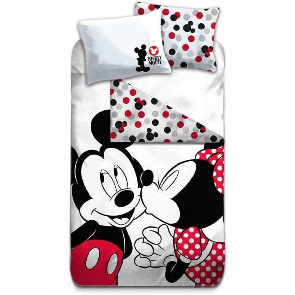 Parure de lit Mickey et Minnie