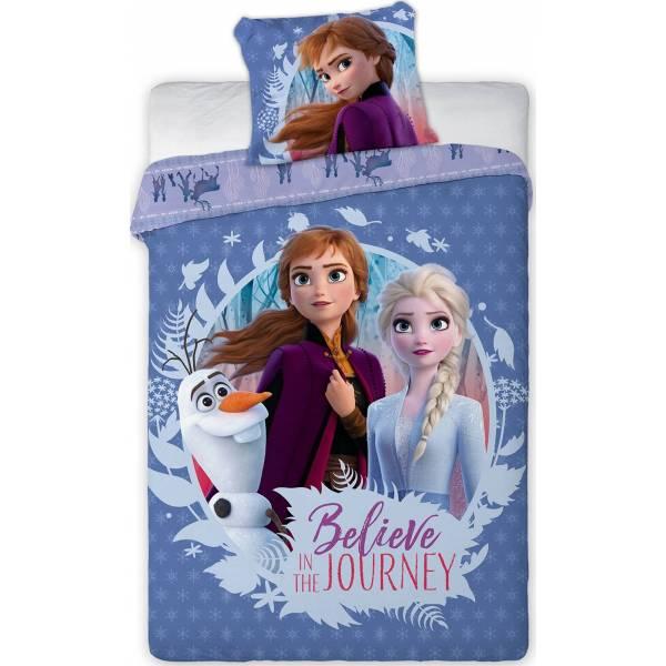 Parure de lit Frozen Disney en coton