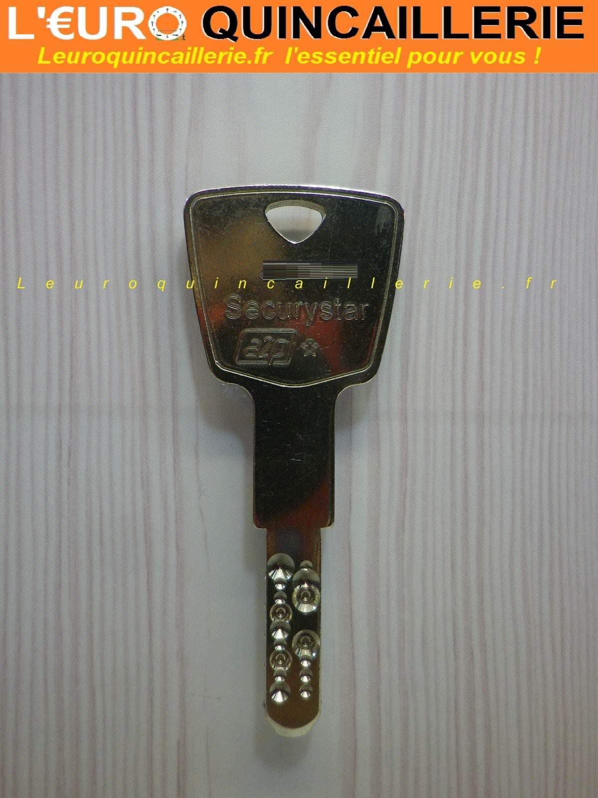 Clé brevetée Securystar Keso 2000 s Oméga sur numero