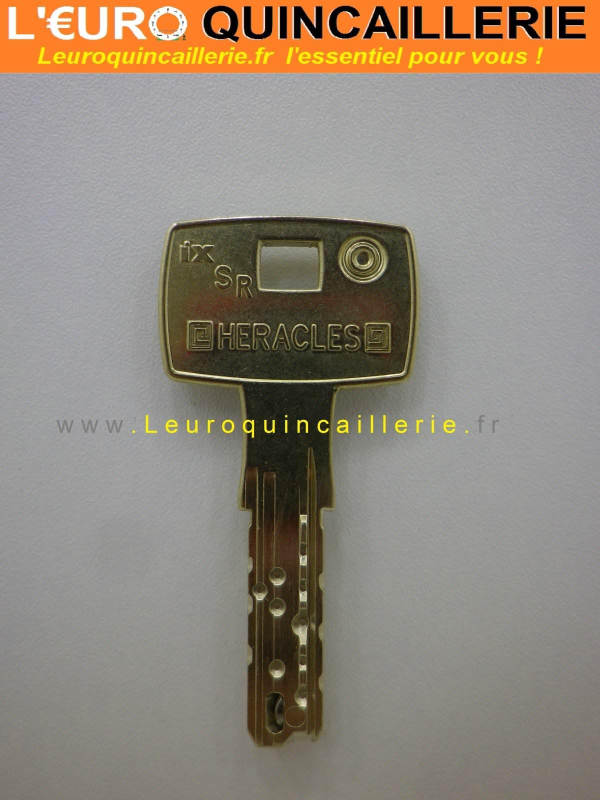 Clé Heracles IX6 SR à disque brevetée sur numéro